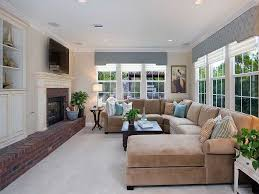 decorating ideas for family rooms with fireplace narrow family room