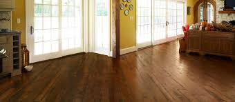 reclaimed antique oak rustic solid wood flooring with a walnut
