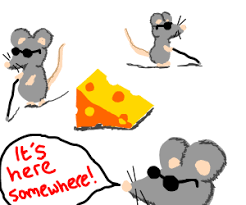 The Blind Mice Mice Search The Cheese