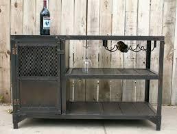 Reclaimed Wood Bar Cabinet Mpi Hopper Industrial Trolley Bar Carts Liquor Cart Insero Co