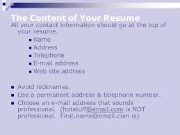 what is a resume name what should go on a resume template billybullock us