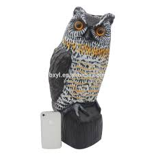 outdoor owl garden statues bird repellent buy bird scare owl