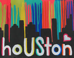 Houston City Flag Paint And Sip In Montrose Montrose Pinot U0027s Palette