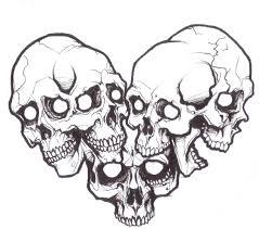 coloring pages sugar skull outline sugar skull outline