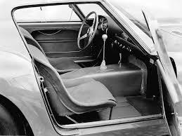 250 gto interior 1962 250 gto milestones