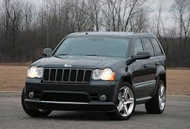 blue jeep grand cherokee jeep grand cherokee wk srt8