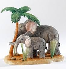 elephant ornaments tusker ele umbrella elephant ornaments