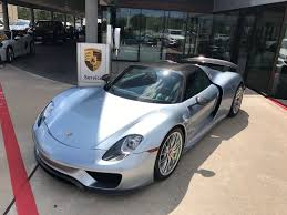 porsche hypercar want to buy a 10k mile porsche 918 spyder for 1 4 million the
