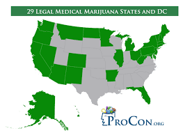 29 legal medical marijuana states and dc medical marijuana