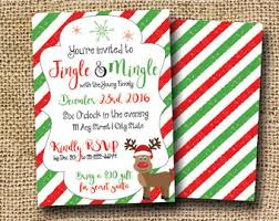 rustic holiday party invite printable holiday party