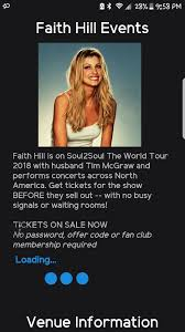 tim mcgraw fan club 7 20 18 two tickets to soul to soul tim mcgraw and faith hill