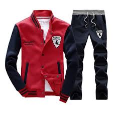 lamborghini clothing rocky sun mens slim fit jogging sweat suits casual tracksuits