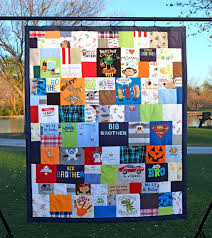 memory clothes baby clothes quilt a great idea to preserve the memories in all of