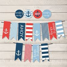 Nautical Party Theme - best 25 nautical banner ideas on pinterest sailor party anchor