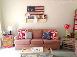 the cozy old summer living room decor