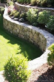 Pics Of Backyard Landscaping by 768 Best Retaining Wall Ideas Images On Pinterest Landscaping