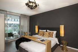 grey walls color accents best bedroom decorating ideas with unique chandelier and charcoal