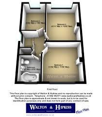 Walton House Floor Plan Oakfield Road Kidderminster Dy11 3 Bed Semi Detached House