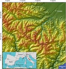 Terminus Cave Map Glacial History Of The Maritime Alps From The Last Glacial Maximum