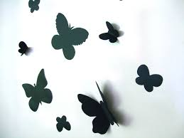 butterfly hd wall decals 3d