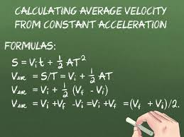 how to calculate average velocity 12 steps with pictures