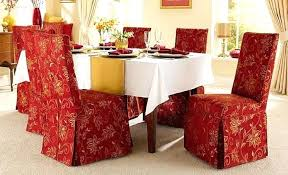 Damask Dining Room Chair Covers Dining Room Chair Covers Jcemeralds Co