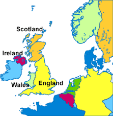 where is wales on the map coed cymru wales
