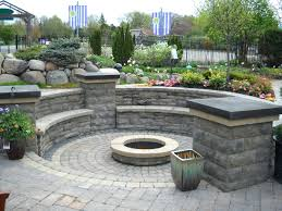 Stone Patio With Fire Pit Patio Ideas Paver Patio Fire Pit Ideas Patio Stone Fire Pit