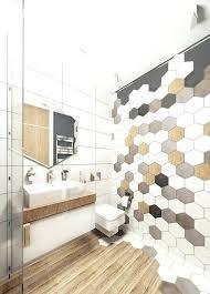 Mosaic Tiled Bathrooms Ideas Hex Mosaic Tile Royal Black Matte Hexagon Mosaic Shipping Charges
