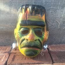 vintage ben cooper frankenstein halloween mask witching hour