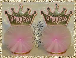 crown centerpieces princess centerpieces gold crown pink by glittermagicparty on zibbet