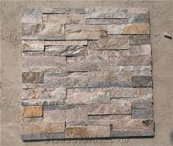 The  Best Images About Stacked Stone Backsplash On Pinterest - Layered stone backsplash