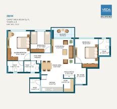 2 bhk apartments for sale in nizampura vadodara alembic veda