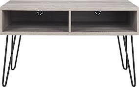 altra owen retro coffee table ameriwood industries altra owen retro tv stand with metal legs 42