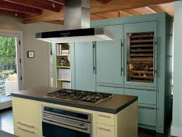 top of fridge storage classy blue color built in wine fridge with blue color kitchen