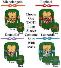 Teenage Mutant Ninja Turtles Halloween Costume Tmnt Teenage Mutant Ninja Turtles Raph Leo Mike Don Costume