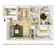 V A Floor Plan One Bedroom Apartments In Blacksburg Va