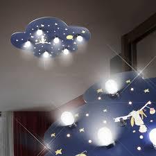luminaire chambre d enfant le petit prince luminaire de plafond led enfant bleu le ciel