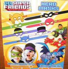 party favors halloween amazon com dc batman justice league hero and villains masks toys