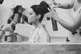 rena skourti hairstylist santorini hairdresser wedding