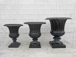 cast aluminum jumbo venetian urn flower planter pot