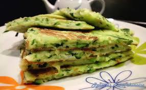 cuisine asiatique recette recettes d une chinoise galettes aux courgettes 糊塌子 hùtāzi