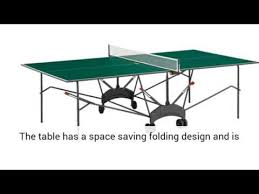 Outdoor Tennis Table Kettler Classic Pro Outdoor Table Tennis Table Youtube