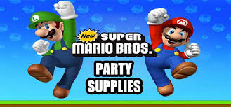 Super Mario Decorations Largest Birthday Party Store Online The Ultimate Party Store