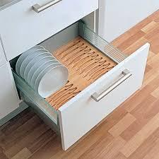 Kitchen Cabinet Plate Organizers Kitchen Drawer Inserts Kitchen Drawer Plate Holder Drawer Plate
