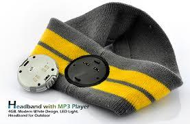 headband mp3 only 38 45 headband mp3 player with led light 4gb tpt l21 us