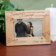 serenity prayer picture frame serenity prayer frame engraved frame