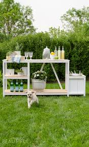 Build Outdoor Bar Table by Summer Entertaining Outdoor Bar Free Plans A Burst Of Beautiful