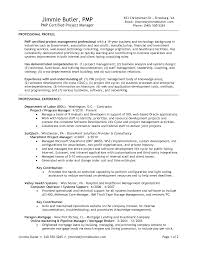 Qa Project Manager Resume Software Resume Samples Experienced Professionals