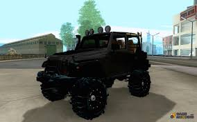 mobil jeep offroad jeep for gta san andreas